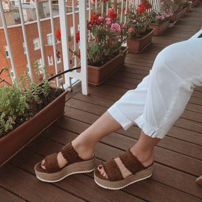 Platform sandal Via Pera BELLE VIE