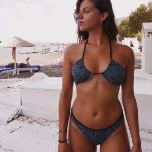 beth Tannous Barcelona bikini