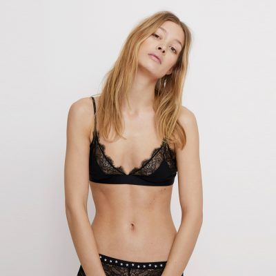 Love Lace Black bralette LOVE STORIES