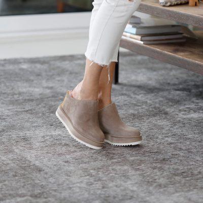 Platform and heel clog Via Bassona BELLE VIE