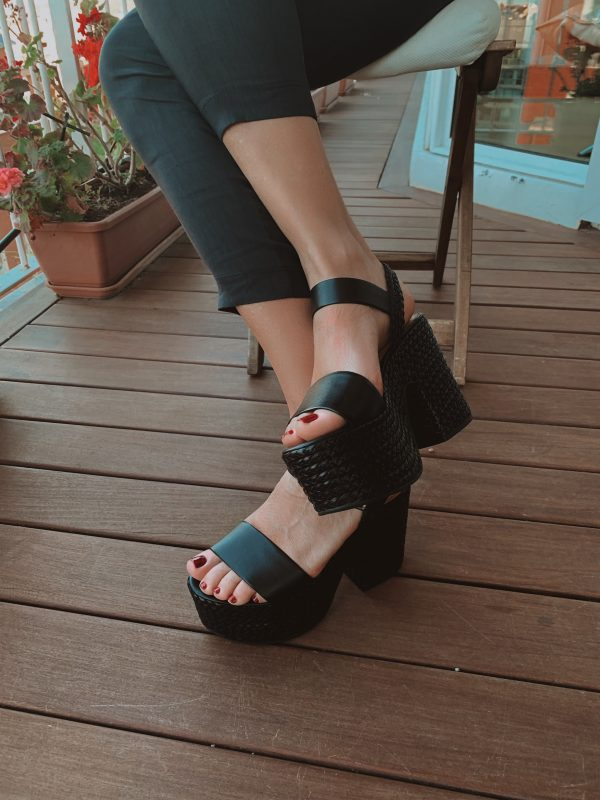 Platform sandals black SCHUTZ