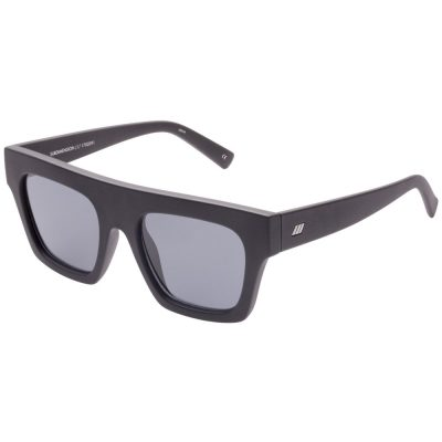 Subdimension Black Rubber sunglasses LE SPECS