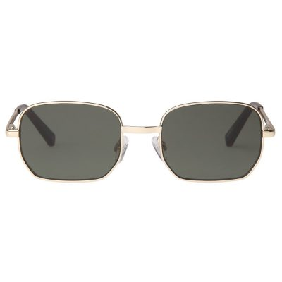The Flash Gold Khaki sunglasses LE SPECS