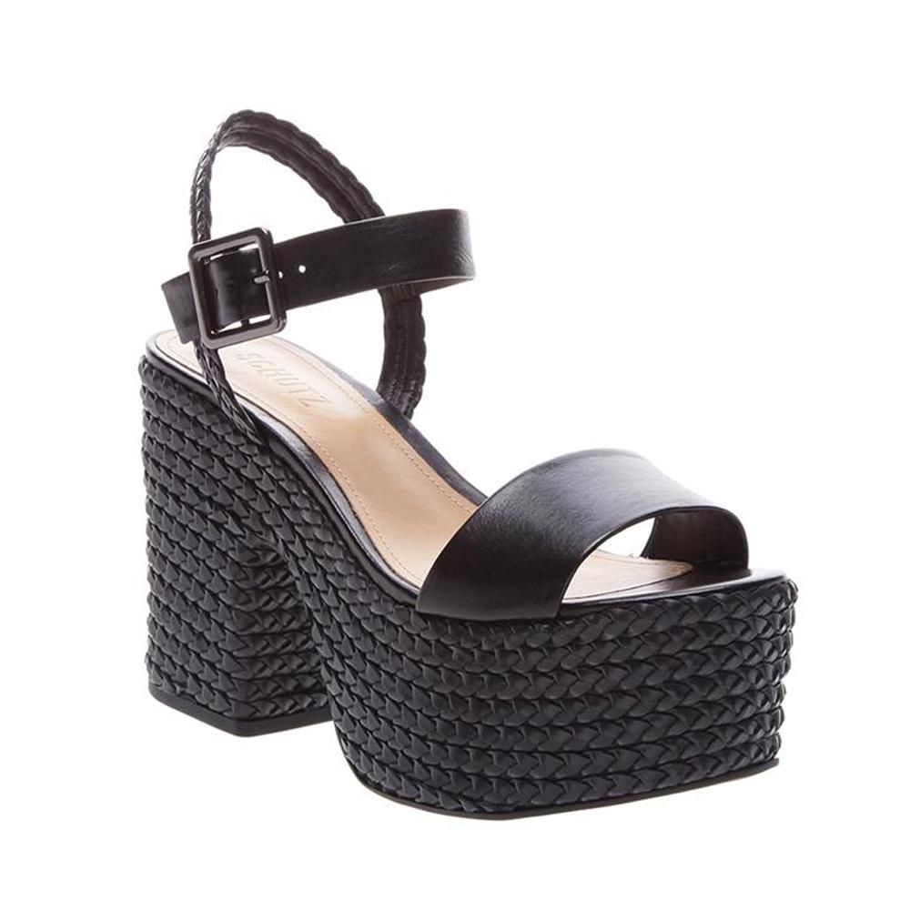 Sandalia negra de plataforma SCHUTZ