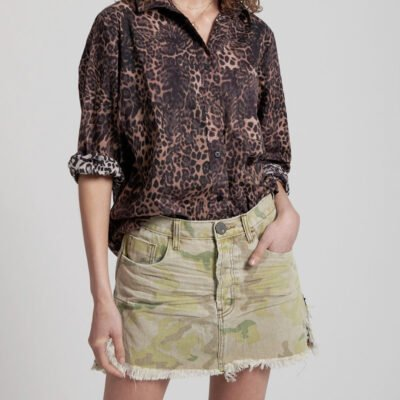 Falda Vanguard Safari Camo ONE TEASPOON