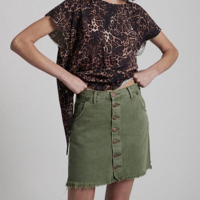 Viper Super Khaki Skirt