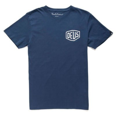 Shield Indigo Tee DEUS EX MACHINA