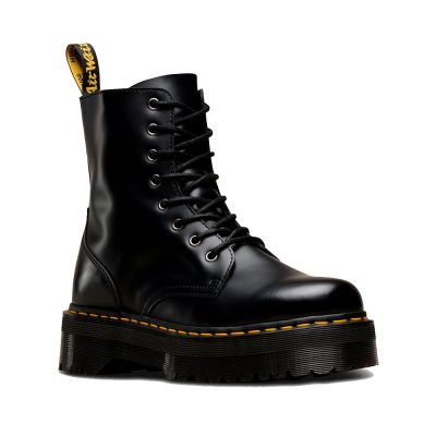 JADON Black Polished Smooth Boot