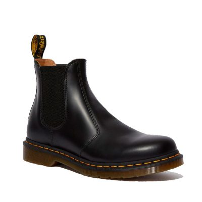 2976 SMOOTH Black Chelsea Boot DR.MARTENS