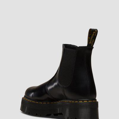 Bota 2976 QUAD Color negro polished smooth DR. MARTENS