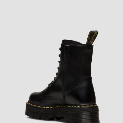Bota JADON Color negro polished smooth DR. MARTENS