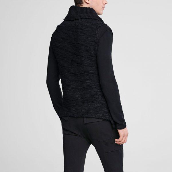 Cardigan de lana sin mangas SARAH PACINI