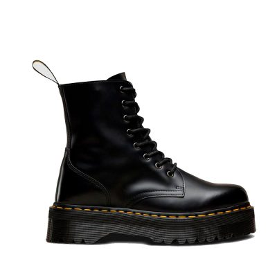JADON Black Polished Smooth Boot DR. MARTENS