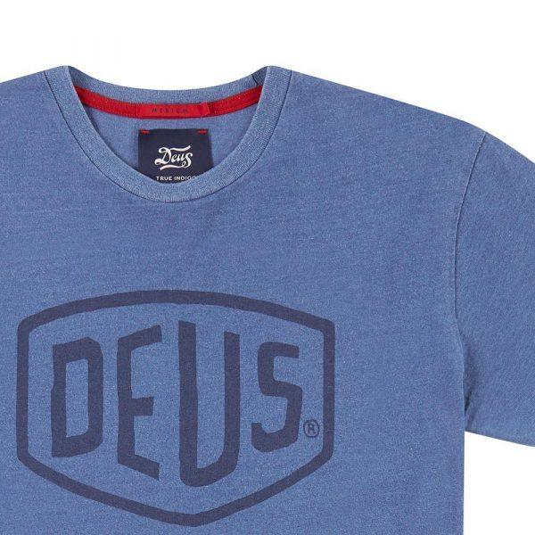 Camiseta Shield Indigo DEUS EX MACHINA