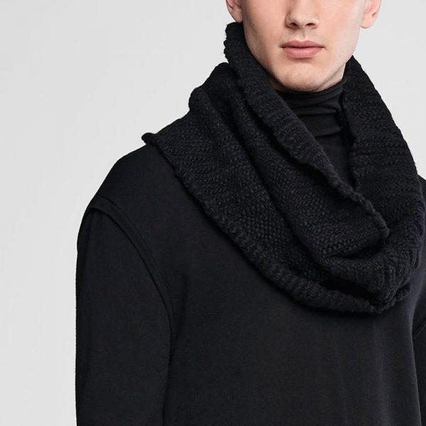 Wool collar scarf SARAH PACINI