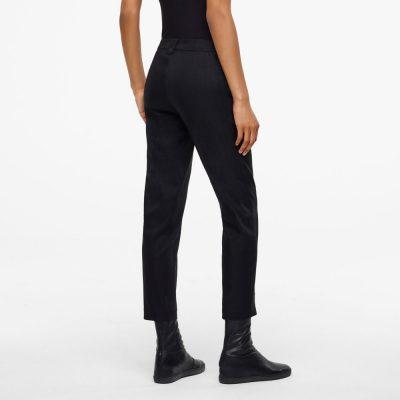 Pantalones Yumiko color negro SARAH PACINI