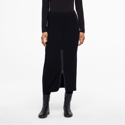 Maxi skirt with adjustable slit SARAH PACINI