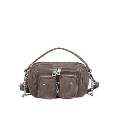 Helena corduroy dark grey bag NÚNOO