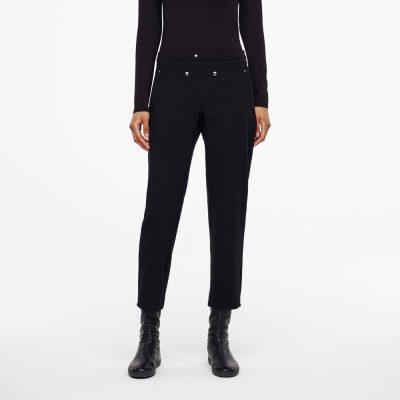 Pantalones Camilla negros SARAH PACINI