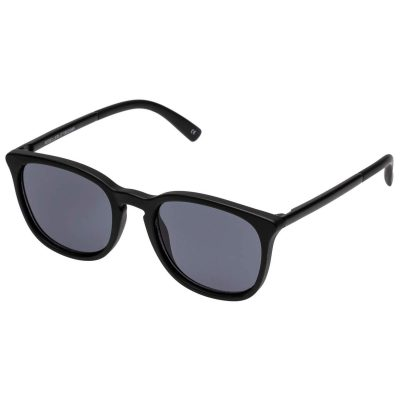 Rebeller Matte Black sunglasses LE SPECS