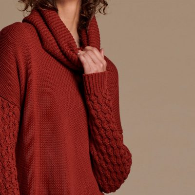 Rider Roll neck Knit Sweater ONE TEASPOON