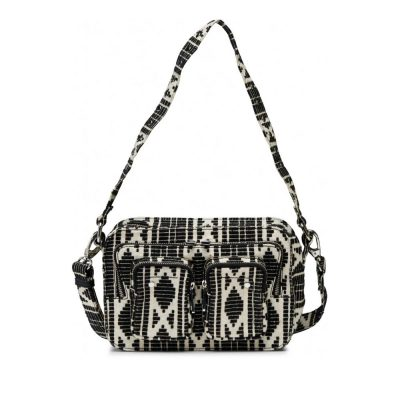 Bolso Ellie mountain Black/White NÚNOO