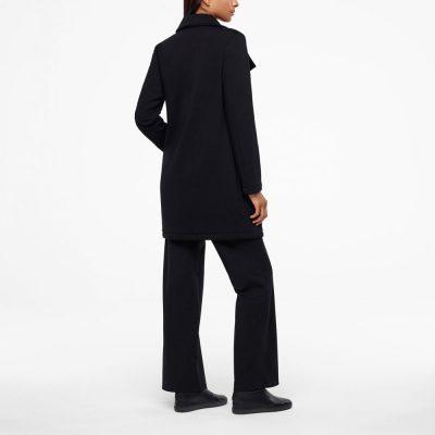 Long Jersey coat SARAH PACINI