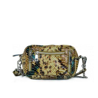 Bag Brenda snake Olive Green NÚNOO
