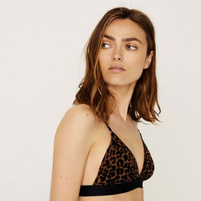 Darling padded leopard bralette LOVE STORIES