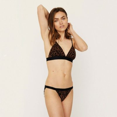 Darling Leopard padded bralette LOVE STORIES
