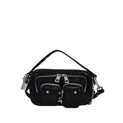 Helena black snake bag NÚNOO