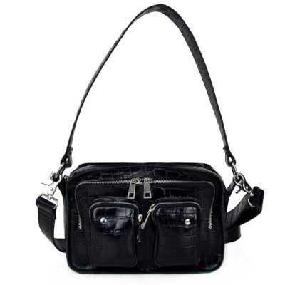 Bolso Ellie Croco black NÚNOO