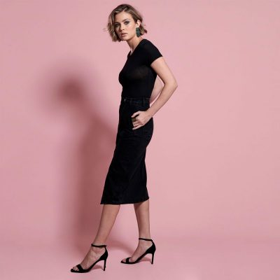 Society double black skirt ONE TEASPOON