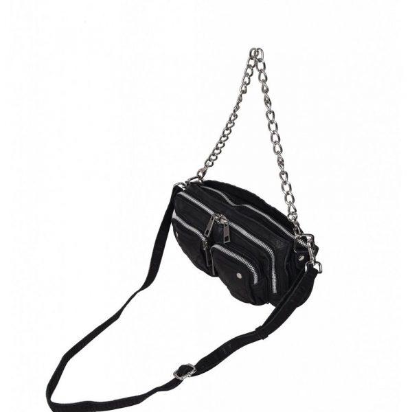 Bolso Stine Chain washed black NÚNOO