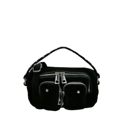 Helena Corduroy black bag