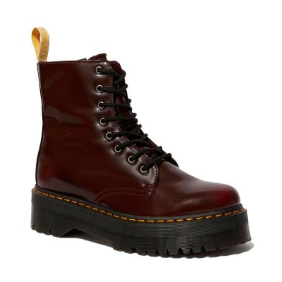 Jadon vegan cherry red boot