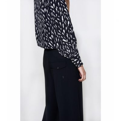 Pantalones negros anchos ALIX THE LABEL