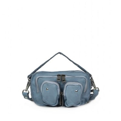 Bolso Helena washed light blue NÚNOO