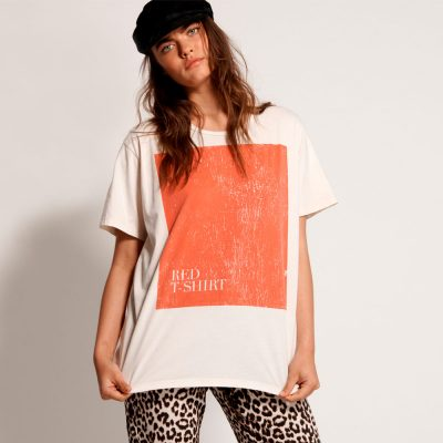 Camiseta Red Tee Boyfriend ONE TEASPOON