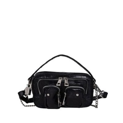 Helena Croco black bag NÚNOO