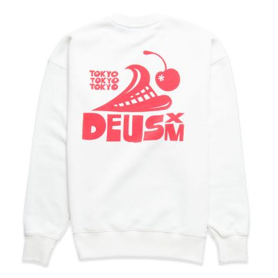 Revlon Surf Crew sweater DEUS EX MACHINA