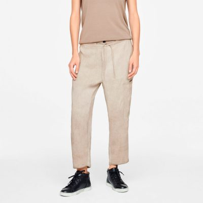 Drawsting linen pants SARAH PACINI