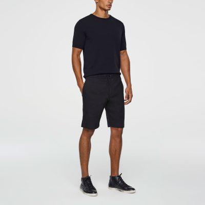 Stretch-linen bermuda shorts SARAH PACINI