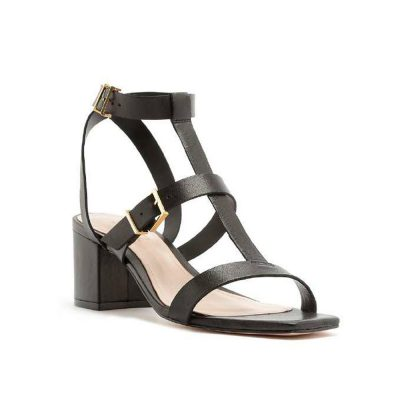 Buckles black sandal SCHUTZ
