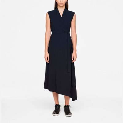 Urban wrap dress SARAH PACINI