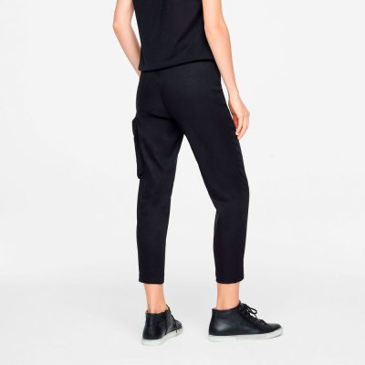 Stretch linen pants SARAH PACINI