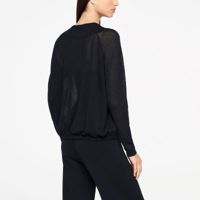 Zipper neckline sweater SARAH PACINI