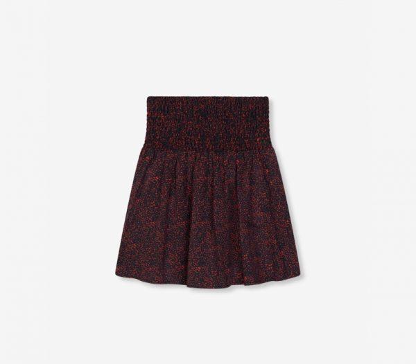 Minifalda estampada