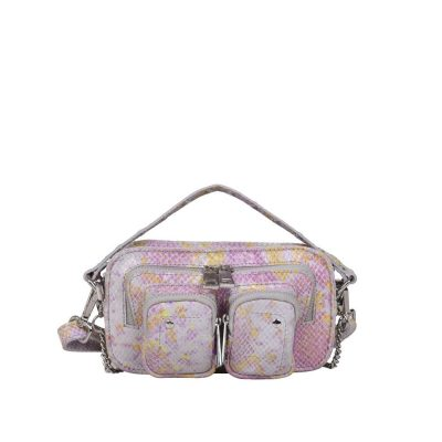 Helena snake pink bag