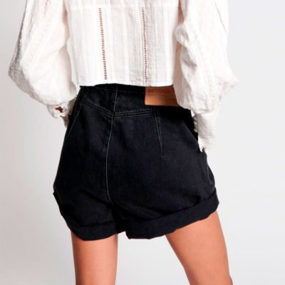 Shorts Streetwalkers 80's worn black